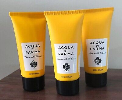 Lot of 3 Acqua Di Parma Colonia Body Cream 2.5oz ea Crema alla Colonia NO TAX!  Acqua Di Parma Body Cream