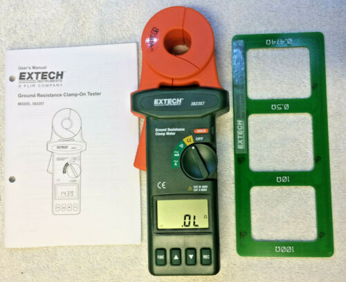 Extech Ground Resistance Clamp-on Meter #382357