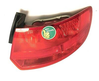 2006-2008 AUDI A3 S3 REAR PASSENGER TAIL LIGHT STOP LAMP Right 06-08 Taillight