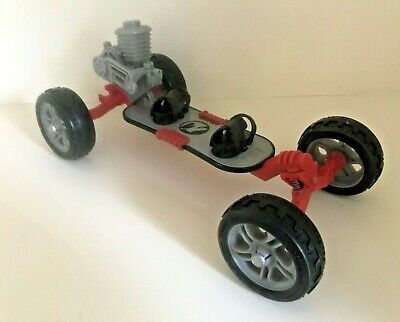 🛹 Vintage 90s ACTION MAN EXTREME SKATEBOARD No.4632 Rubber Tyres, Engine, Toy