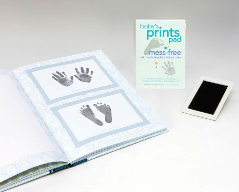 C. R. Gibson Ink Pad for Baby Footprints and Handprints, Black