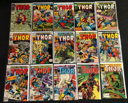 THE MIGHTY THOR - HIGH GRADE  SILVER TO COPPER - 106PCS LOT/RUN (VF-NM)