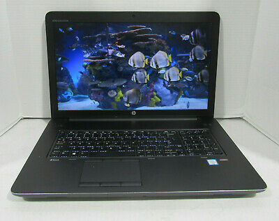 "HP ZBook 17 G3 17.3"" Workstation PC 2.6GHz i7-6700HQ 16GB RAM 2 x 256G SSD NO OS"
