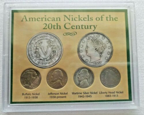 American Nickels of the 20th Century Unopened Still in Shrink Wrap circulated