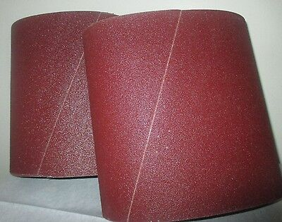 Premium 120 Grit Sandpaper Belts 8 X 19 10-pack For Ez8 Floor Sander