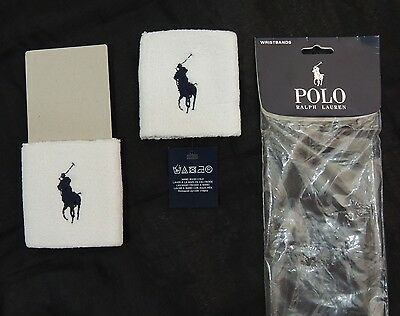 Polo Ralph Lauren LIMITED EDITION Big Pony Terry Sweatbands Tennis Wristband