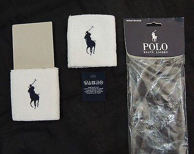 Polo Ralph Lauren LIMITED EDITION Big Pony Terry Sweatbands Tennis Wristband