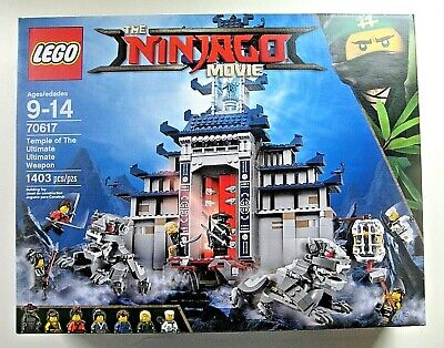 LEGO The Ninjago Movie Temple of the Ultimate Ultimate Weapon 70617 NEW