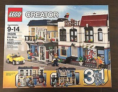 Lego Creator Bike Shop   Caf   31026