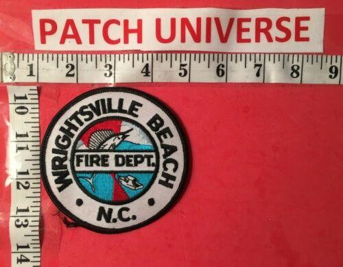 WRIGHTSVILLE BEACH NC FIRE DEPT  SHOULDER PATCH  P060