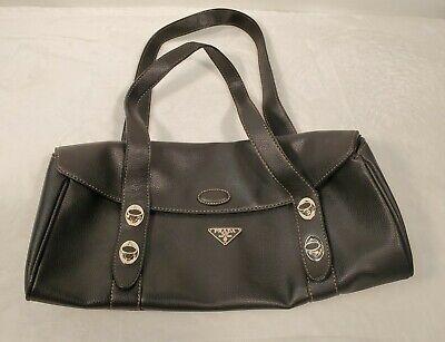 BEAUTIFUL BLACK VINTAGE PRADA MILANO HAND BAG