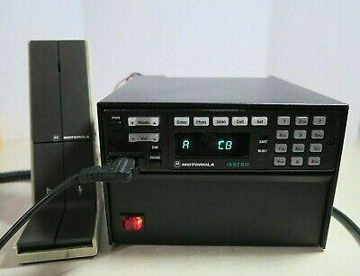 Motorola Astro Spectra Uhf Mobile Radio D04qkh9pw7an With Astron Sl-11r-ra