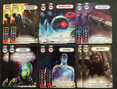Star Wars Destiny - OP PROMOS - 6x Playsets -G19D2 - Ewok Ambush, Mastermind...