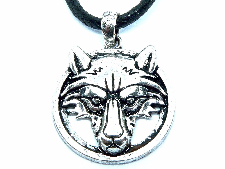 Wolf Animal Spirit Pendant Viking Celtic Native American Symbol