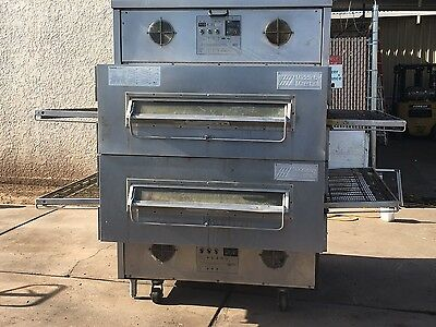 Middleby Marshall Ps360 Ewb Doublestack 44  Conveyor Pizza Ovens Warranty Avail