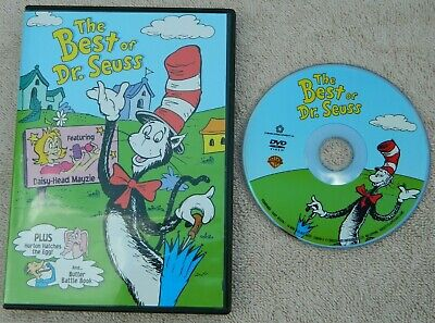 The Best of Dr. Seuss (DVD, 2003) Used - Free (Best Of Dr Seuss)