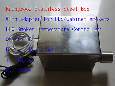 bbq grill temperature controller w/ rainproof box for Ugly D