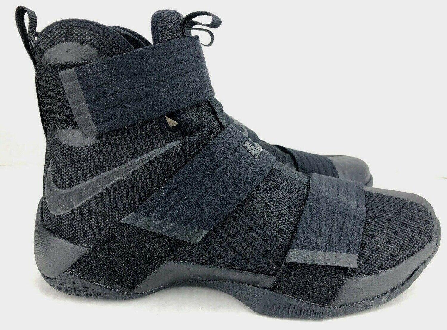 Nike Lebron Soldier X 10 Triple Black