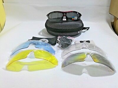 Sports Sunglasses for Men and Women with Large Faces Professional Glasses (Sunglasses For Large Faces)