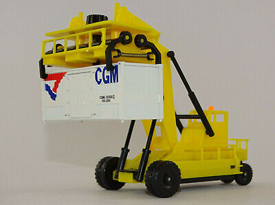 Lima HL8001 Container Forklift mit 20 Fuß Container neu OVP 1:87