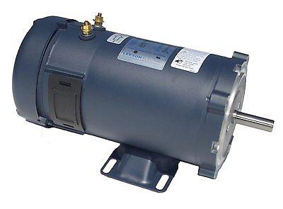 34hp 1800rpm 56c 24v Dc 58 Shaft Tenv Leeson Electric Motor 108052