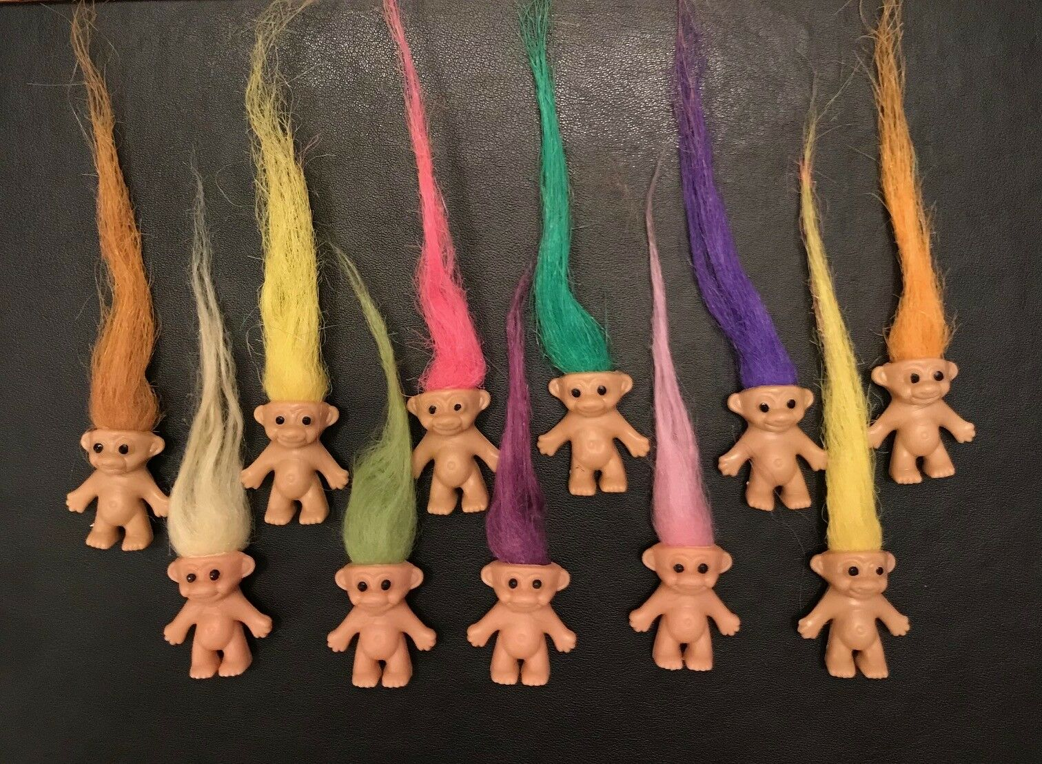 1,6,12,36,48,96  Mini Trolls Mixed Colours Ideal Party Bag Toys Trolls from 99P