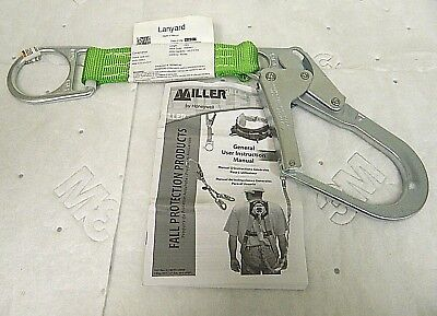 Miller By Honeywell 19 Green Rebar Hook Anchor With D-ring 480-z719ingn