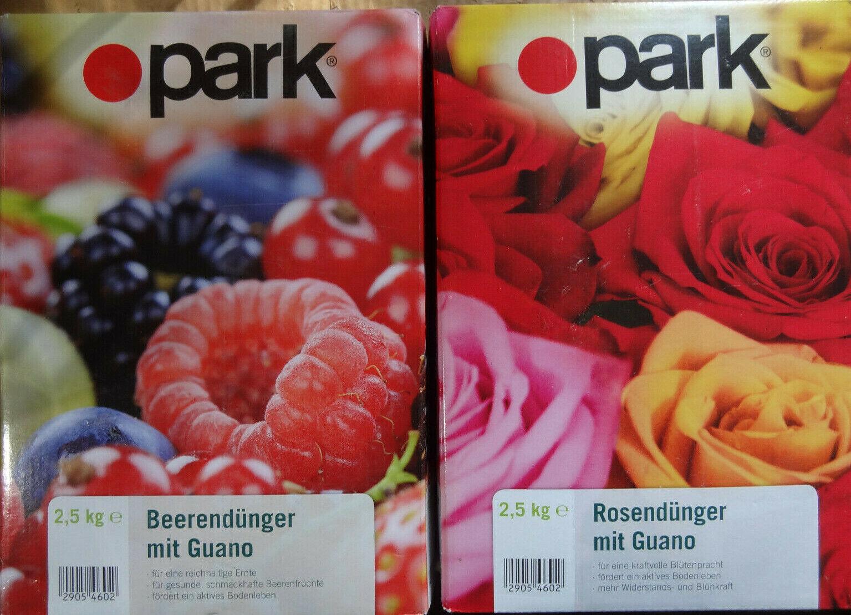 Rosendünger oder Beerendünger mit Guano  Eur 3/Kg