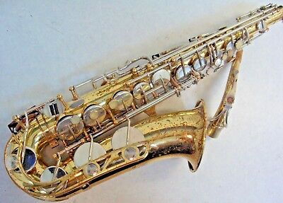 Used, YAMAHA YAS-21 ALTO SAXOPHONE IN GOOD PLAYING CONDITION  for sale  Barstow