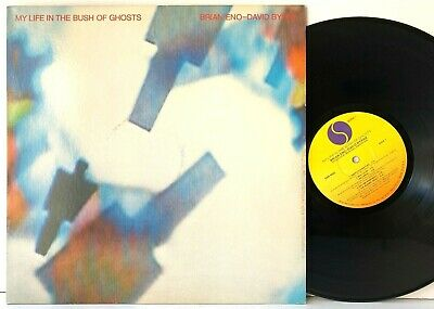 Brain Eno / David Byrne My Life in the Bush of Ghosts Sire LP Vinyl Record Album