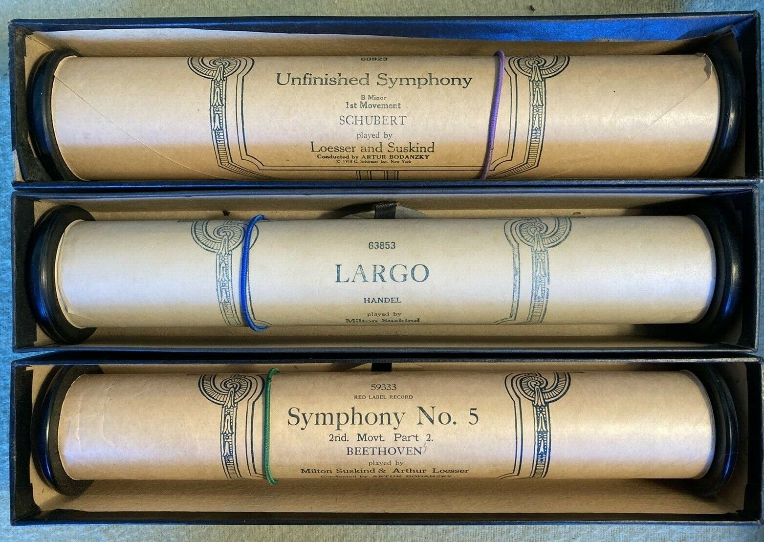 Vintage Ampico Player Piano Rolls, Previously Played - Bundle Of 3 Rolls - $13.00