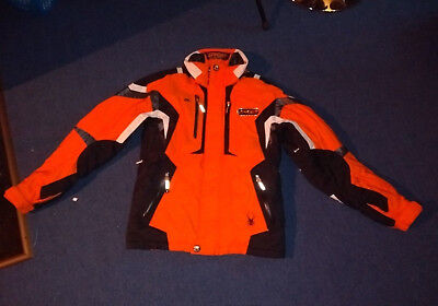 Spyder Ski Snowboard Jacke Herren Gr. 48