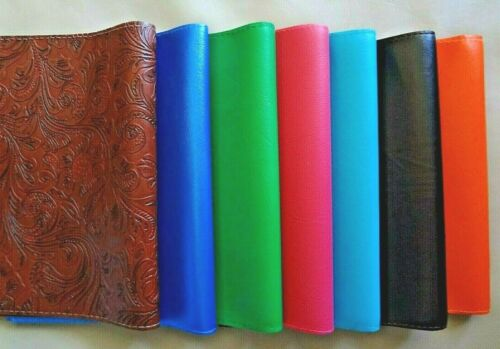 Book Cover Faux Leather GCV/AGMV (Multiple Colors)