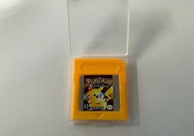 Pokemon Yellow Version GB Gameboy USA SELLER SHIPS FIRST CLASS FAST