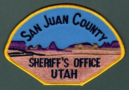 San Juan County Utah Sheriff Police Patch