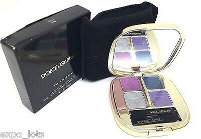 Dolce & Gabbana The Eyeshadow Smooth Eye Colour Quad 170 NIGHT 0.16 oz - BOXED