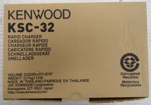 KSC-32 Rapid Battery Charger NX-200 NX-210 NX-300 NX410 2 Way Radio (2A5.31.JK)