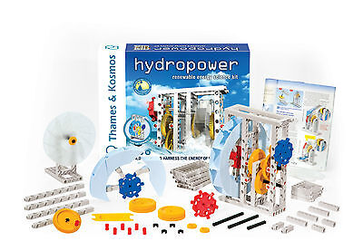 Thames   Kosmos Hydropower Renewable Energy Science Kit New Hydro Power