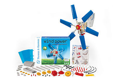 Wind Power Renewable Energy Science Kit Thames   Kosmos New In Box Educational