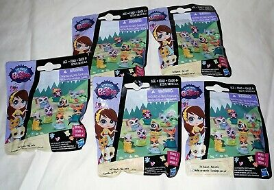 Littlest Pet Shop Pet Hideouts Series 2 (rare series) 5 Blind Bags New Old (Littlest Pet Shop Blind Bags Series 4)