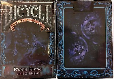 R'lyeh Rising Bicycle Playing Cards Poker Size Deck USPCC Limited Edition Custom