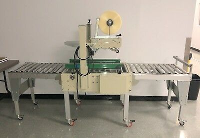 Sta Pack Gem-52 Top Bottom Case Sealer Box Machine 110v 60hz 300w 6a