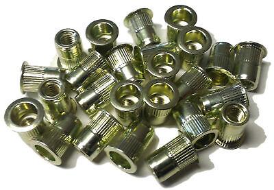 Rivet Nuts 14-20 Steel 25pc Buy 3 Or More10 Rebate Rivnut Riv Nut Nutsert