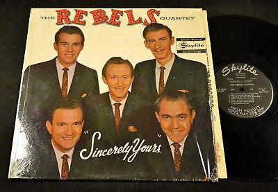 SOUTHERN GOSPEL LP Rebels Quartet Skylite 6010 Sincerely Yours