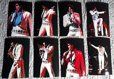 Elvis Presley 8 Photo Set-Turquoise Stone