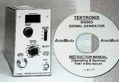 Tek Sg503 Generator Manual Opsservice