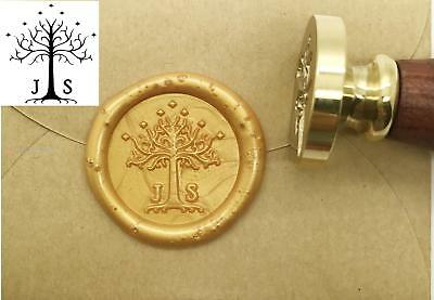 Personalized Tree Initials Wax Seal Stamp Custom Wedding Invitation Sealing Wax - Tree Wedding Invitations