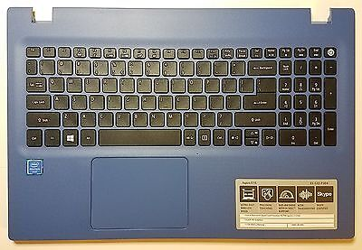 NEW ACER ASPIRE E5-532-P304 TOP COVER PALMR W/ KEYBOARD TFQ4CZRTTATN EAZRT00211A