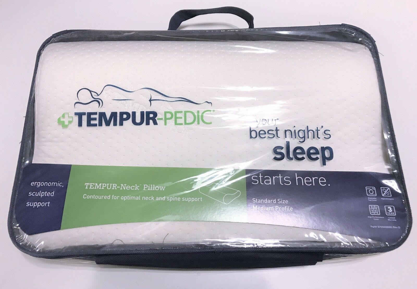 The NeckPillow by Tempur-Pedic Standard Medium Profile