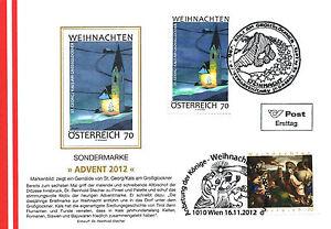 CHRISTKINDL - ADVENT 2012 - ERSTTAG - SCHMUCKKUVERT - LUXUS!!!!!! - <span itemprop=availableAtOrFrom>Neuzeug, Österreich</span> - CHRISTKINDL - ADVENT 2012 - ERSTTAG - SCHMUCKKUVERT - LUXUS!!!!!! - Neuzeug, Österreich